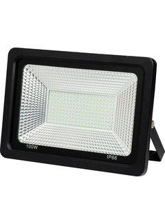 100W LED Breedstraler | 6400K Koud Wit