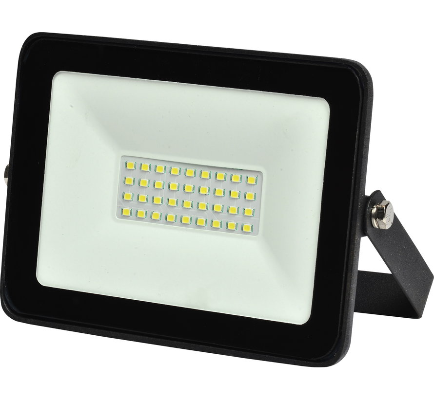 30W LED Breedstraler | 6400K Koud Wit