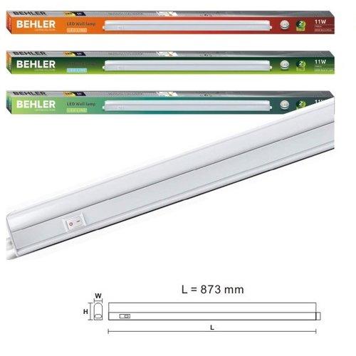 LED Batten - T5 - 11W - 90cm - 4200K Dag Licht - Doorkoppelbaar - Ledline