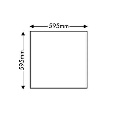 LED Paneel 60x60cm 3000K 40W | Warm wit