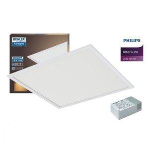 LED Paneel 60x60cm 32W UGR≤19 | 3000K Warm wit | inclusief PHILIPS XITANIUM Driver