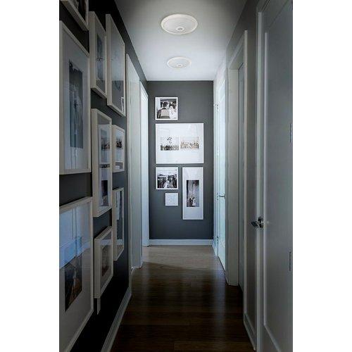 LED Plafondlamp met bewegingssensor - 360° - 3000K - Rond - 12W - Warm Wit