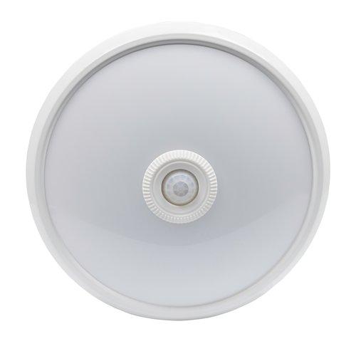 LED Plafondlamp met bewegingssensor - 360° - 6400K -  840 L - Rond - 12W - Koud Wit