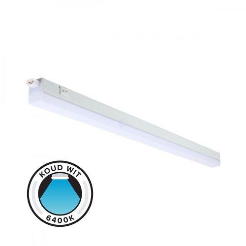 LED Batten - T5 - 14W - 120cm - 6400K Koud Wit - Doorkoppelbaar - Ledline