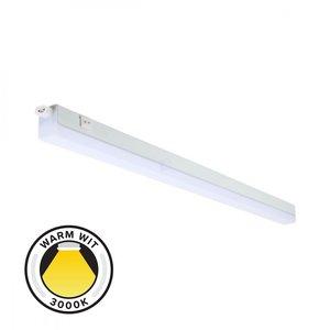 LED Batten - T5 - 7W - 60cm - 3000K Warm Wit - Doorkoppelbaar - Ledline