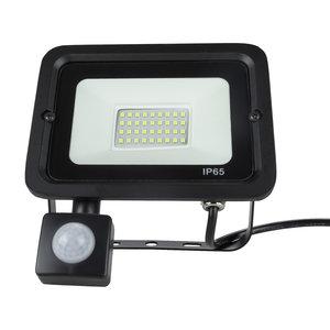 LED Breedstraler met bewegingssensor | 30W | IP65 | 6400K Koud Wit