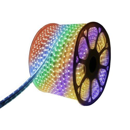 LED Strip RGB | 20 Meter | IP65 Waterdicht | 220V - 240V | SMD 5050 | Plug & Play
