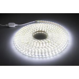 LED Strip Koud Wit | 10 Meter | IP65 Waterdicht | 6400K | 220V - 240V