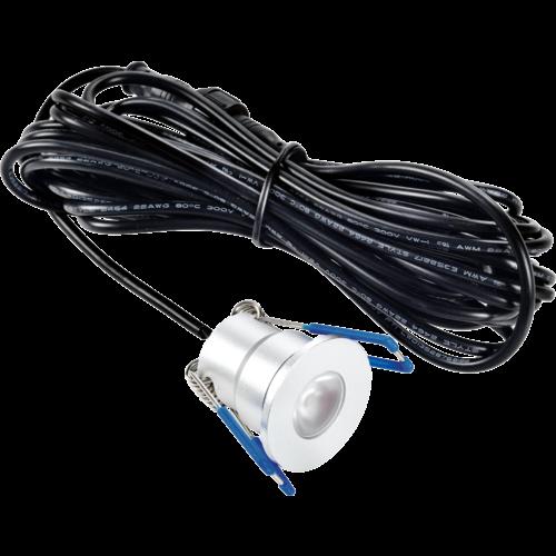 LED Veranda Spot | 3W Dimbaar IP65 | 2700K Warm Wit | Set van 6
