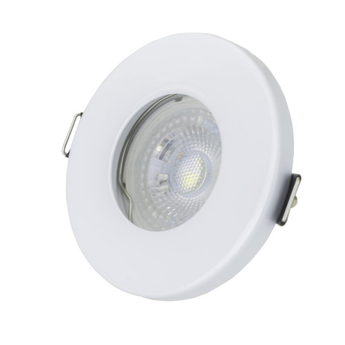 LED inbouwspots Wit Rond | Waterdicht IP65 | Dimbaar | Inclusief 5W GU10 Spot