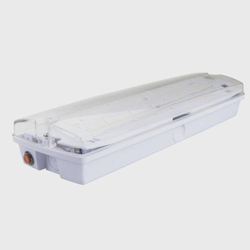 LED Noodverlichting | 3W | IP65 Waterdicht | Opbouw | Bulkhead inclusief pictogram