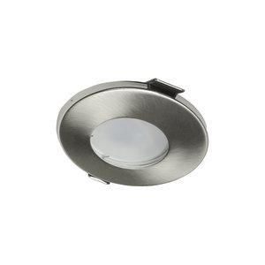 LED inbouwspots Nikkel Rond | Waterdicht IP65 | Dimbaar | Inclusief 5W GU10 Spot