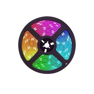 LED Strip RGB 5 Meter Complete set | Plug & Play | Inclusief 44 knops afstandbediening | SMD 5050 | IP20