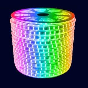 LED Strip RGB | 10 Meter | IP65 Waterdicht | 220V - 240V | Plug & Play