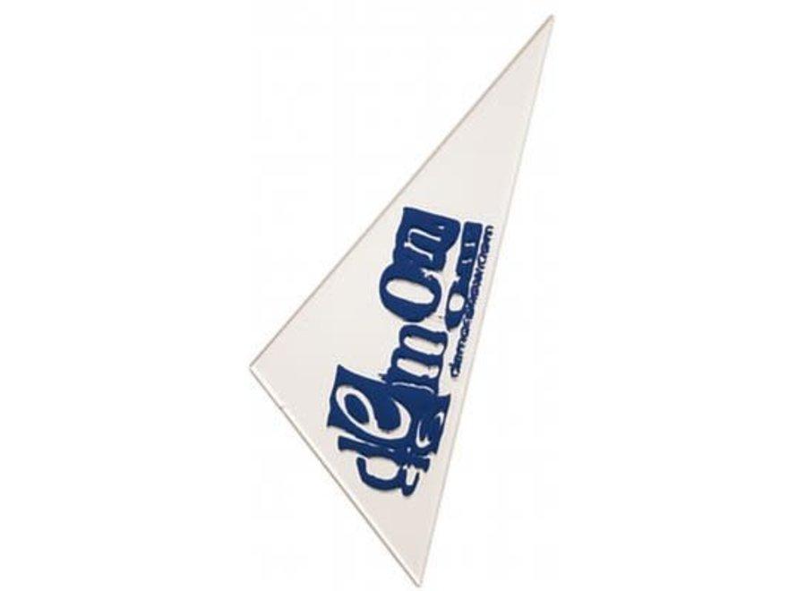 Triangle wax scraper