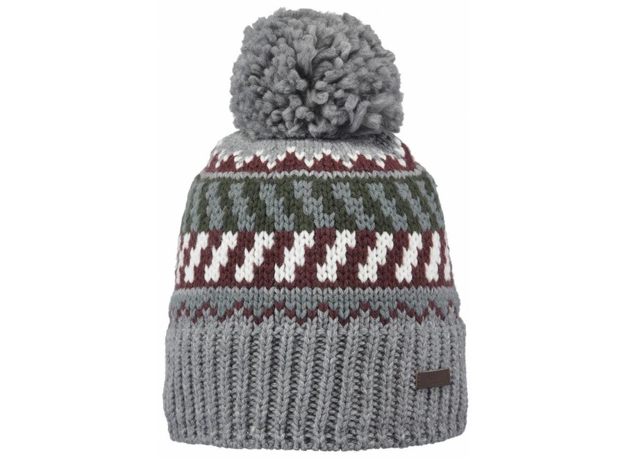 Nevada Beanie - Heather Grey