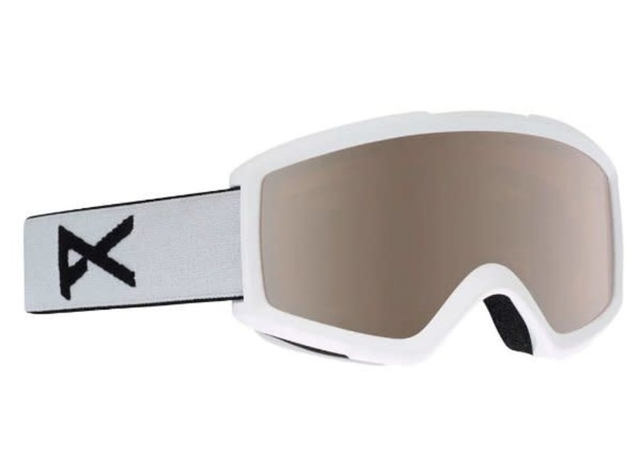Helix w/Spare Lens - White - Blue Solex