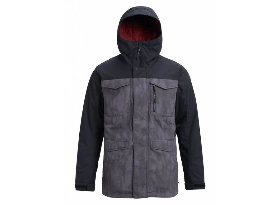 Covert Jacket - CLDSDW - True Black