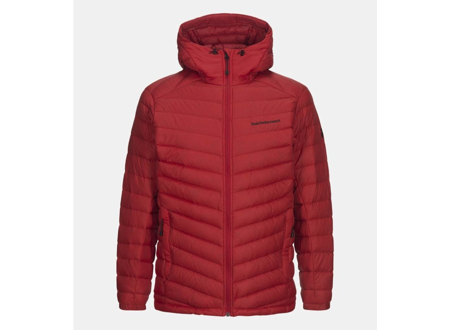Frost Down Hood - Red Pompeian