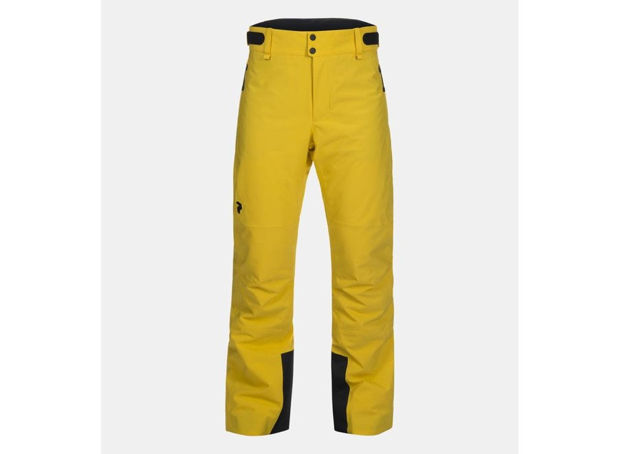 Maroon Pant - Desert Yellow