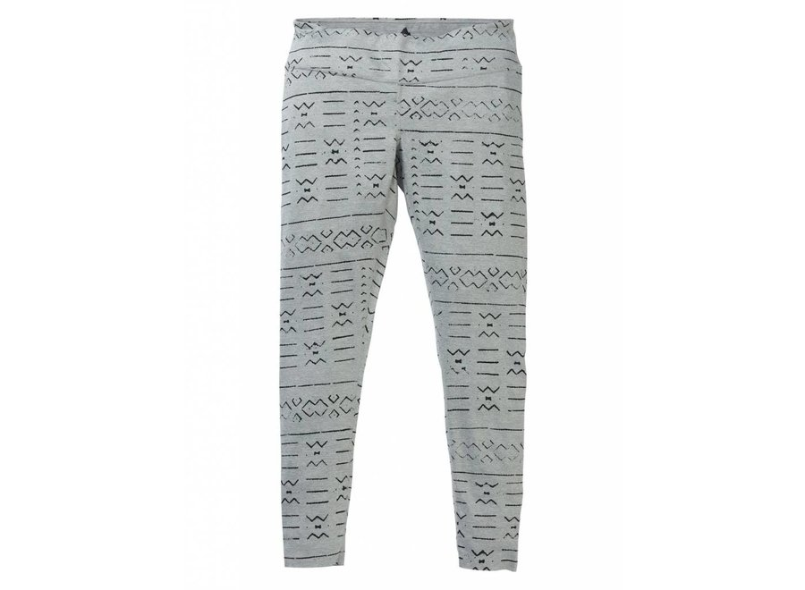 Midweight Pant - Grayscale Bogolanfini