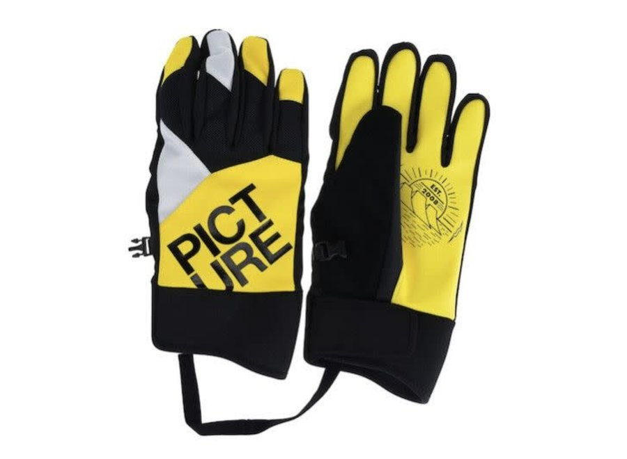 Label Gloves - Fluo Yellow
