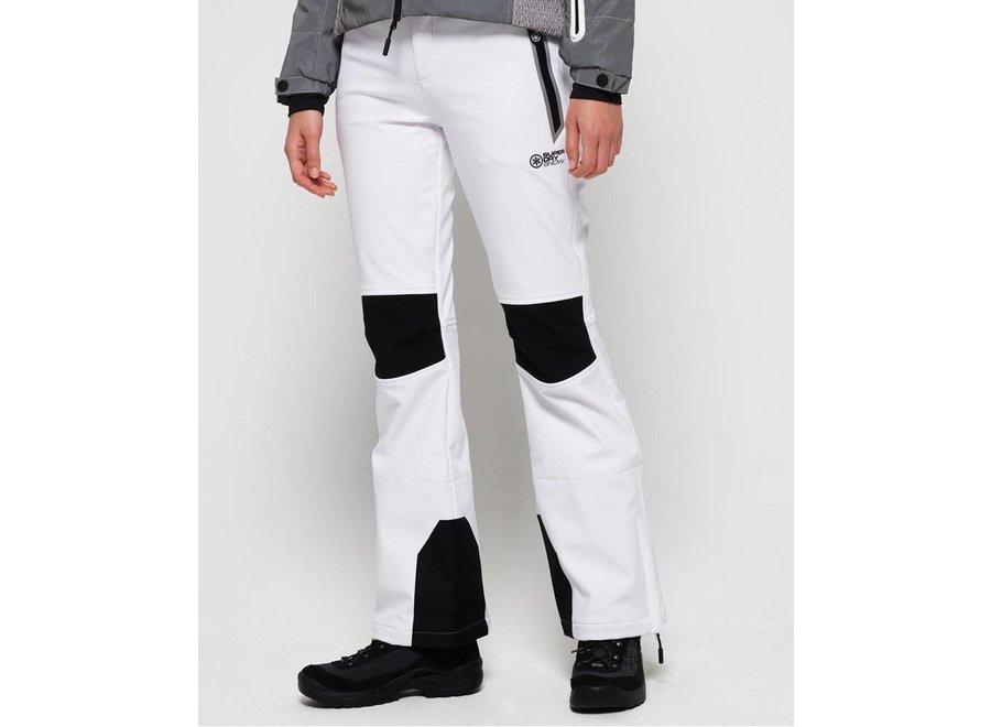 Sleek Piste Ski Pant - White