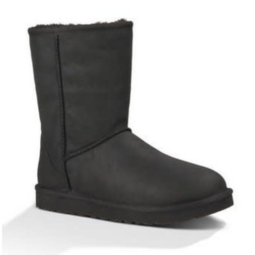 UGG W Classic Short Leather