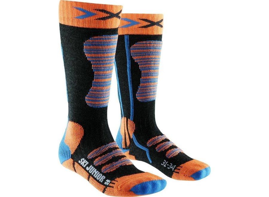 Ski Junior - Orange / Turqoise