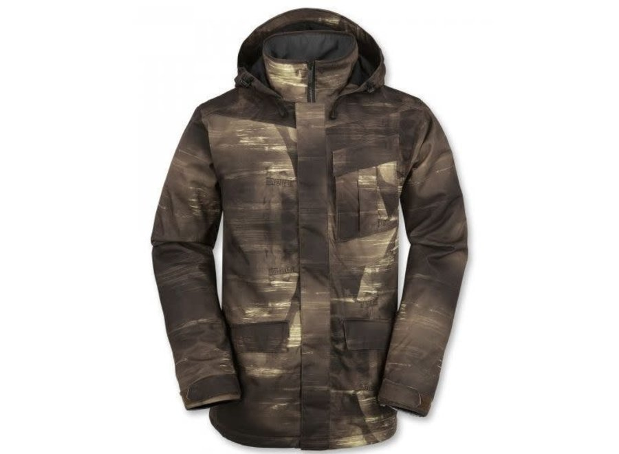 Mails Insulated Jacket - Sepia