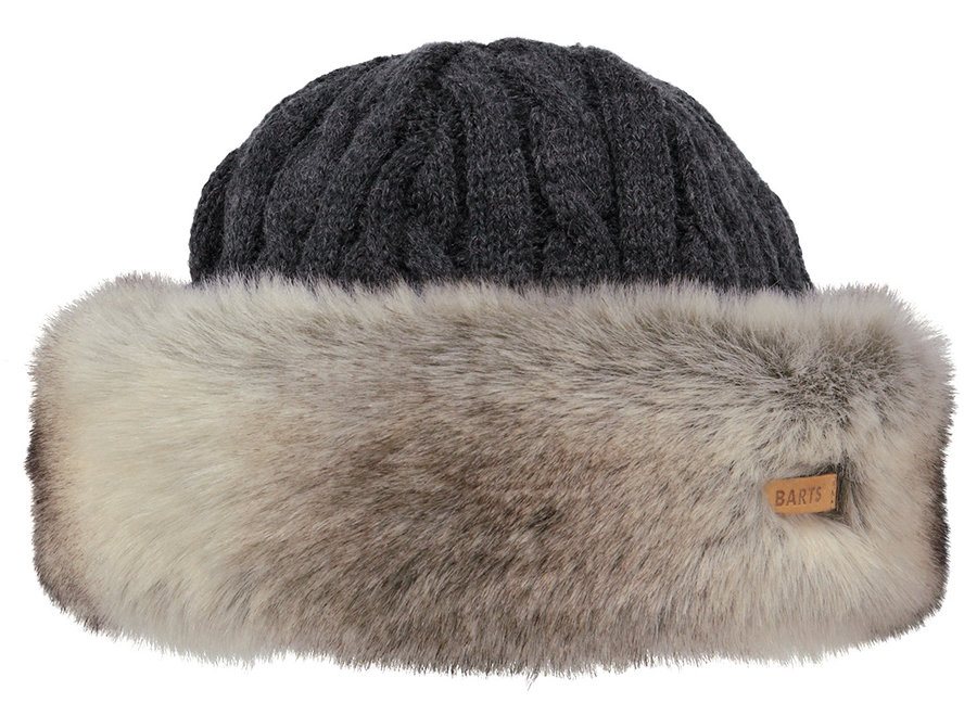 Fur Cable Bandhat – Heather Brown