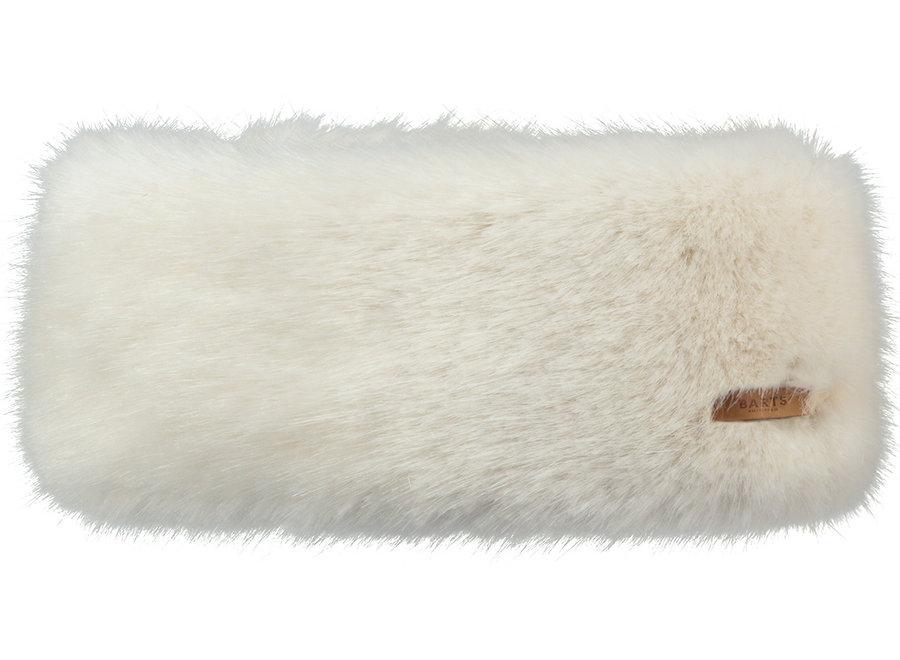 Fur Headband – White