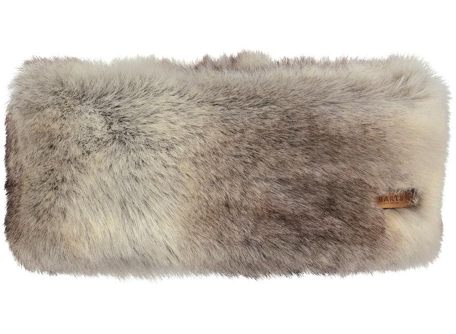 Fur Headband – Heather Brown