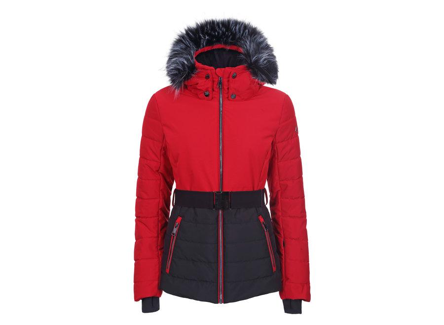 Jaalanka Jacket - Classic Red