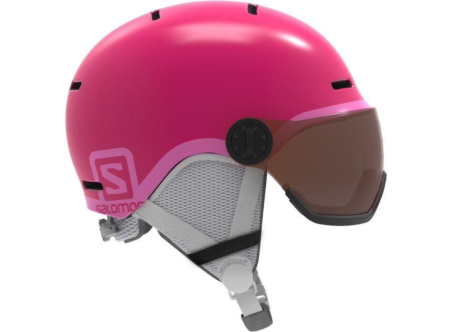 Grom Visor – Glossy / Pink