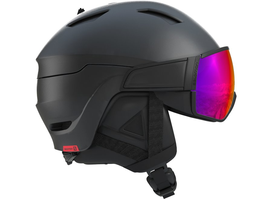 Driver – Black / Red Accent