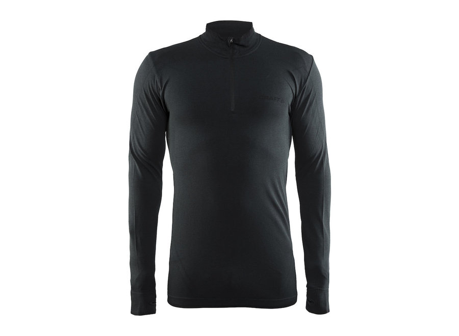 Active Comfort Zip - Black Solid