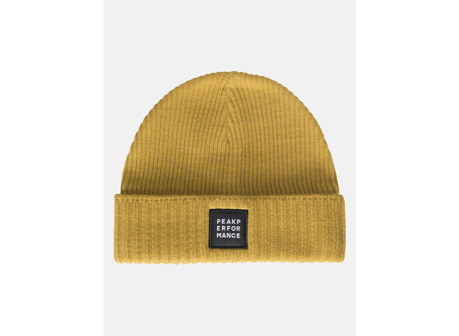 Volcan Beanie – Smudge Yellow