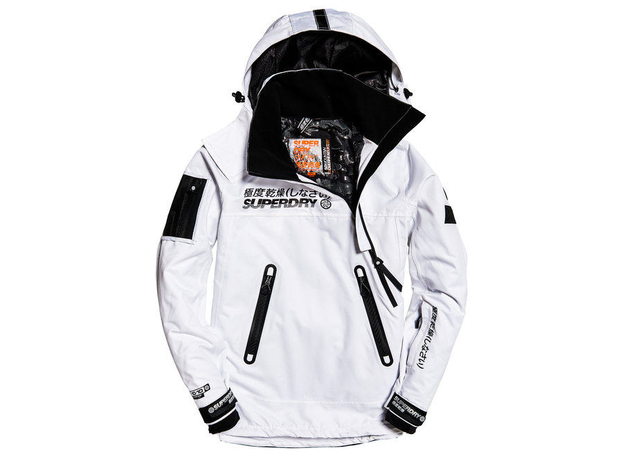 Snow Rescue OverJacket – Arctic White
