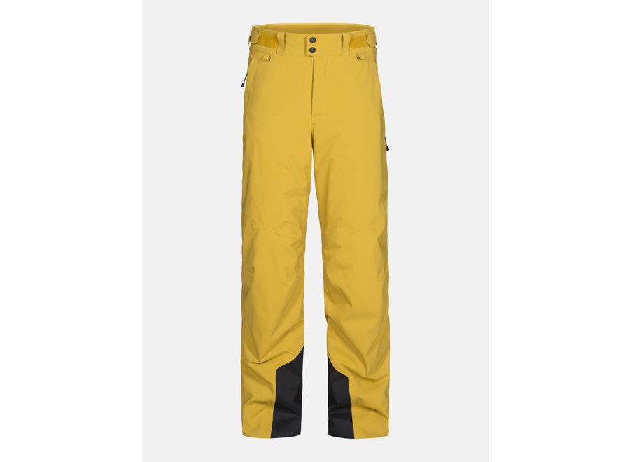 Maroon Pant – Smudge Yellow