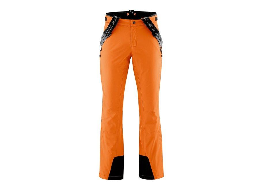 Copper Slim Pant – Persimmon Orange