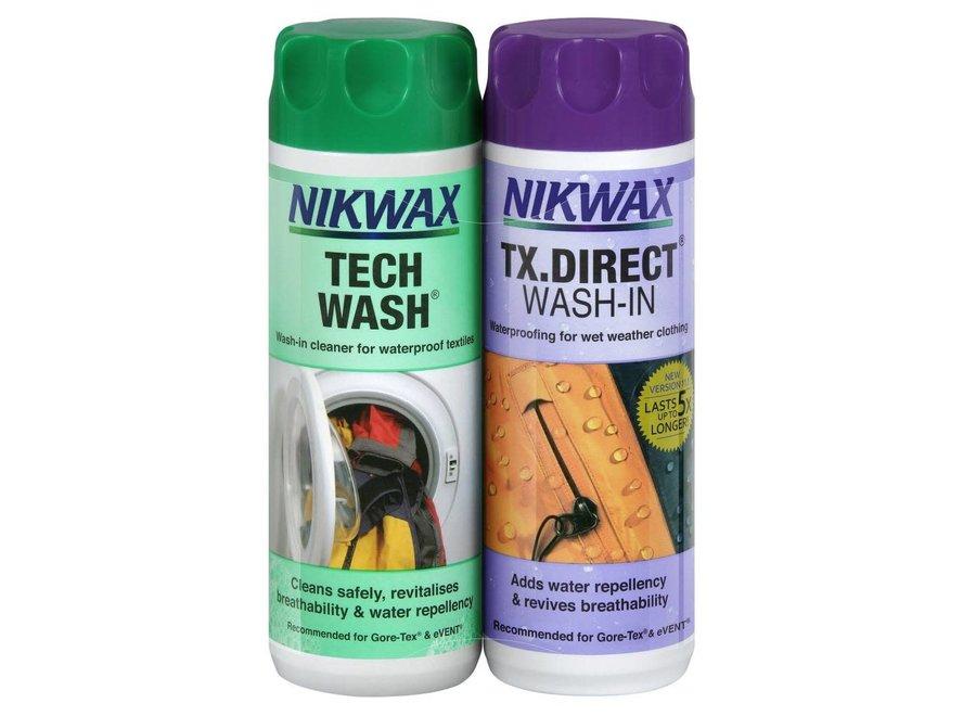 Twin Pack Tech Wash & TX.Direct 300ml