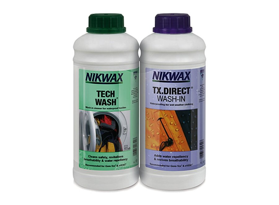 Twin Pack Tech Wash & TX.Direct 1L