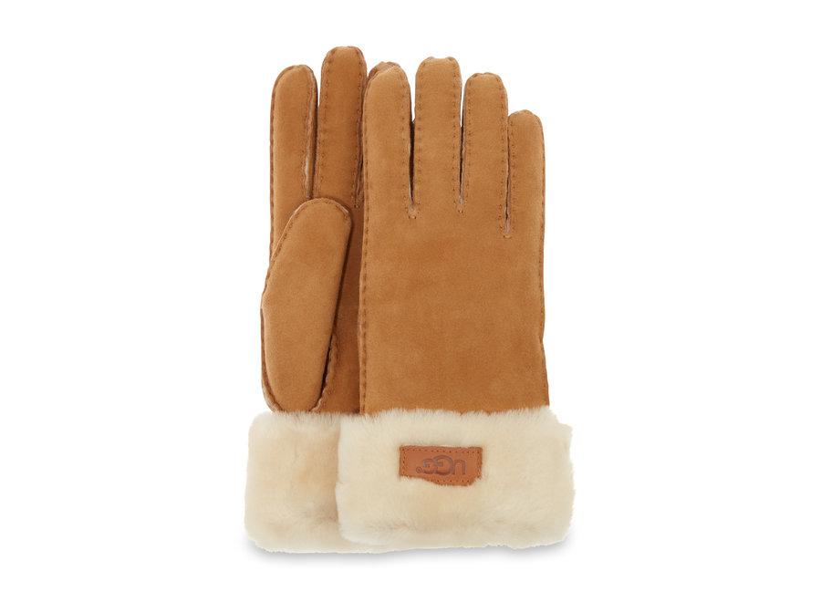 Turn Cuff Glove – Chestnut