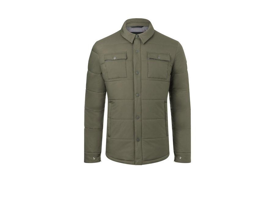 Linard Shirt Jacket – Pearly Green