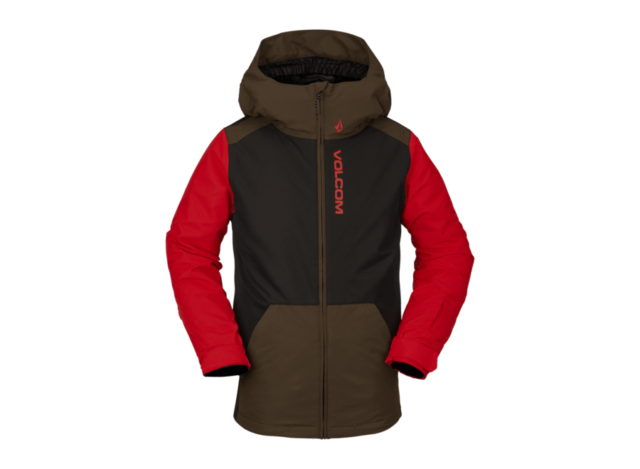 Boy's Vernon Insulated Jacket – Black Military