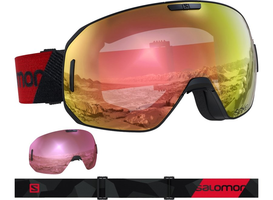 S/Max Photo Sigma – Black-Red / All Weather Purple