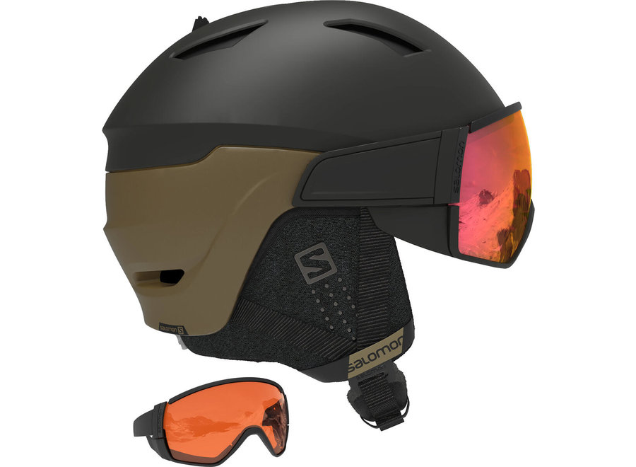 Driver – Black Bronze / Solar Red