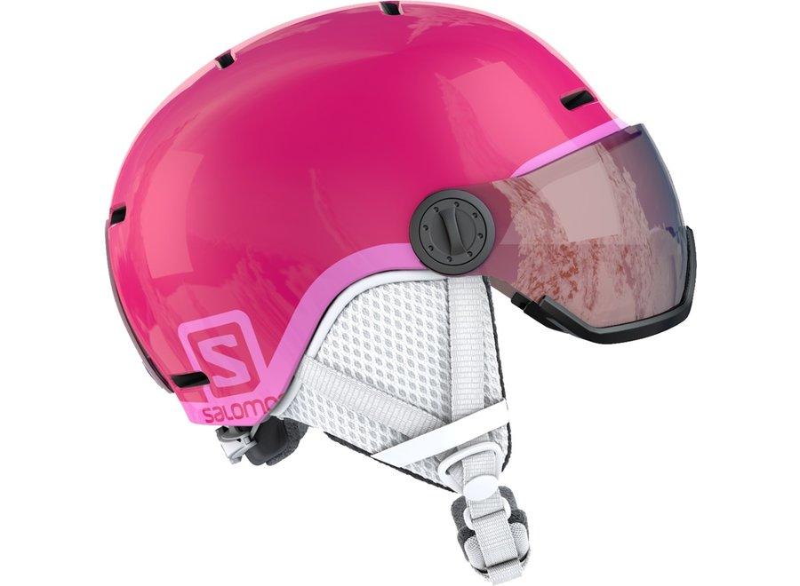 Grom Visor – Glossy Pink