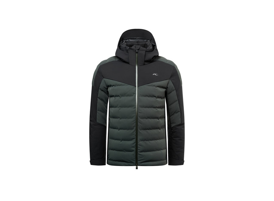 Sight Line Jacket – Dark Jet Green – Black